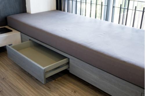 أغطية البرطمانات الممغنطة - أدراج أسفل السرير