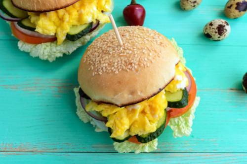 ساندوتشات الجبن للأطفال - طريقة عمل ساندوتش الجبن والأومليت