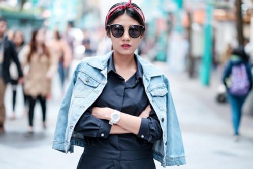 ملابس العيد للنساء - جاكيت جينز