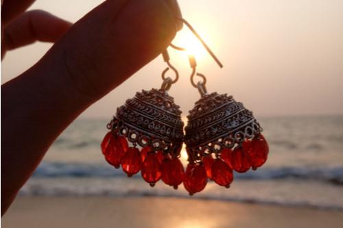 موضة الحلقان بالصيف - الحلقان الهندية