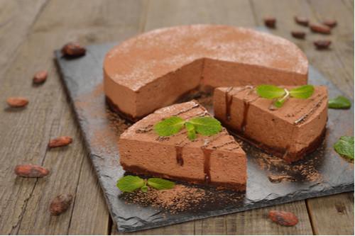 حلويات دون فرن - طريقة عمل تشيز كيك الشوكولاتة