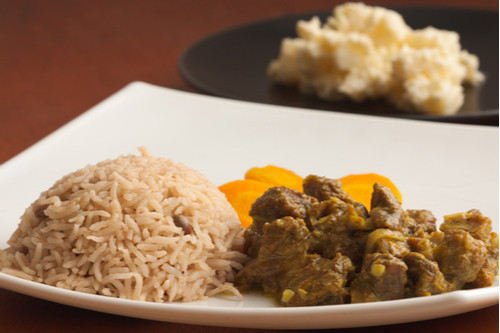 لحم النيفا - لحم الماعز بالكاري