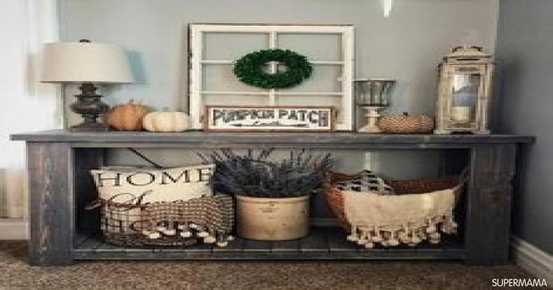 أفكار لتجديد ديكور المنزل - إدخال وحدات خشبية