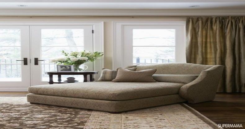 أفكار لتجديد ديكور المنزل - الاستعانة بأريكة