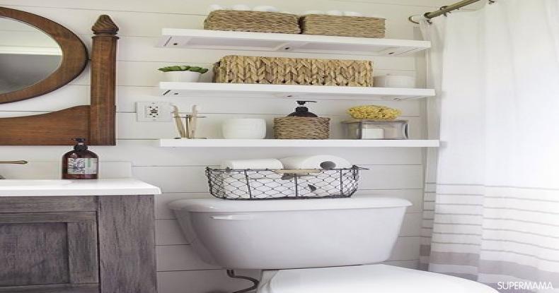 أفكار لتجديد ديكور المنزل - ديكور الحمام