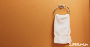 ترتيب الحمام - مناشف تجفيف الوجه واليدين