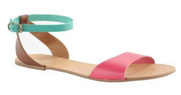 أحذية مهم شرائها - صندل جلد دون كعب