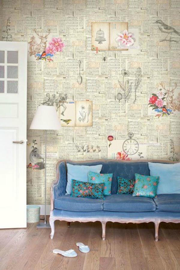 أفكار ديكور منزلية - ورق الحائط