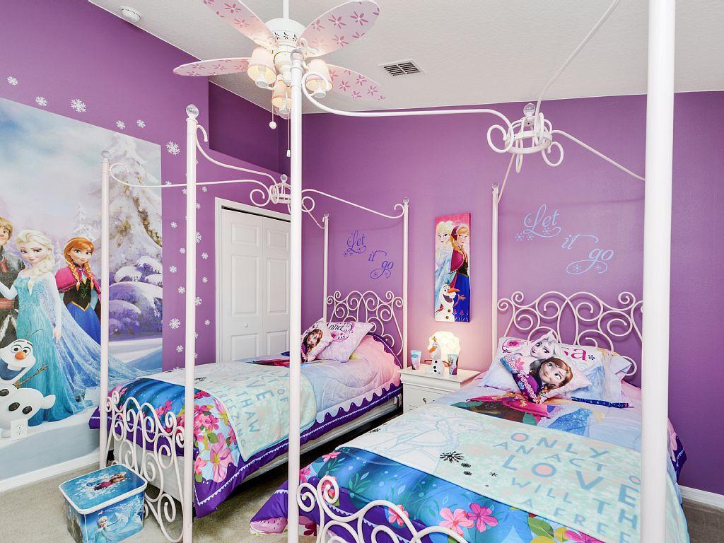 أفكار لغرف الأطفال - غرفة مستوحاة من أفلام ديزني