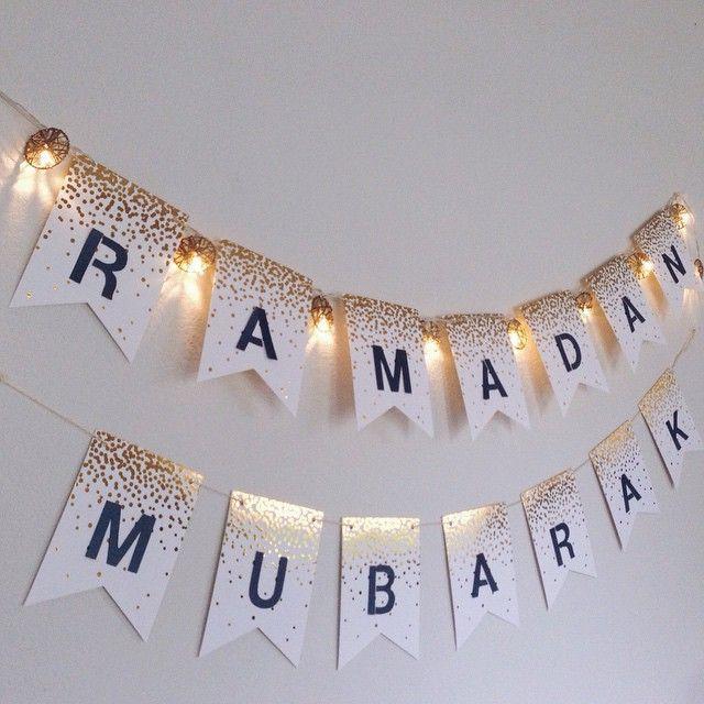 زينة رمضان في البيت-زينة الترحيب برمضان