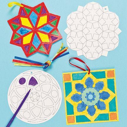 زينة رمضان في البيت-زينة من الزخرفة الهندسية الإسلامية