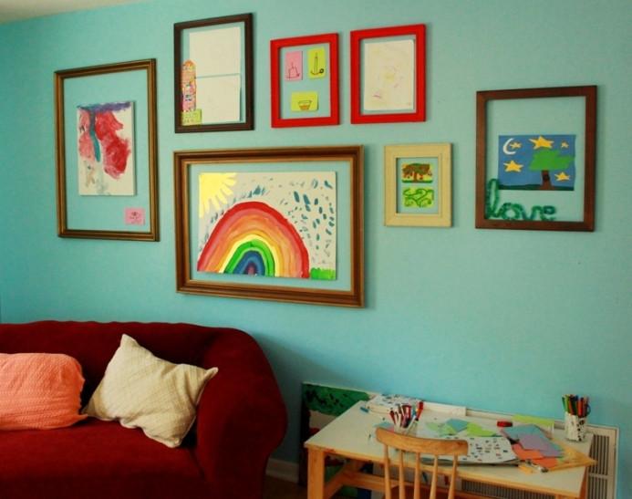 تجديد ديكور المنزل - رسومات أطفال