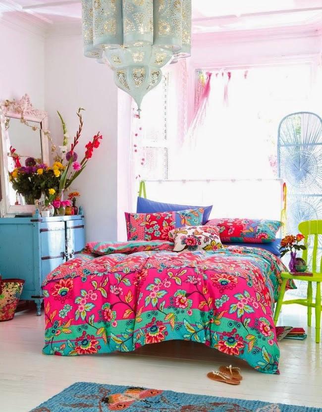 تجديد ديكور المنزل - مفارش سرير