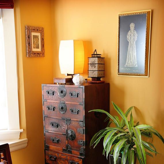 ديكور لجدران ملونة لتدفئة المنزل