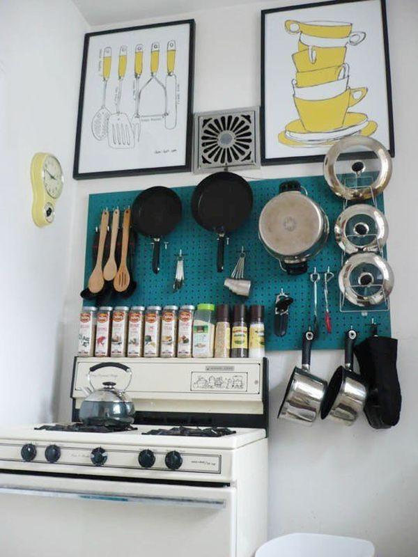 مطبخ مرتب ومنظم 1