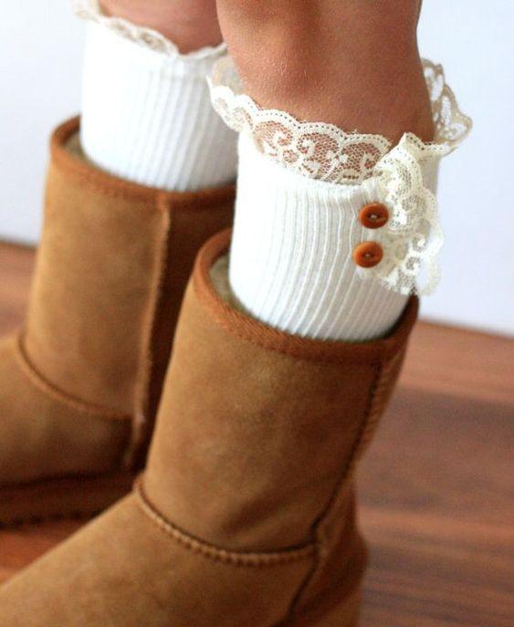 أحذية الشتاء للبنات 4