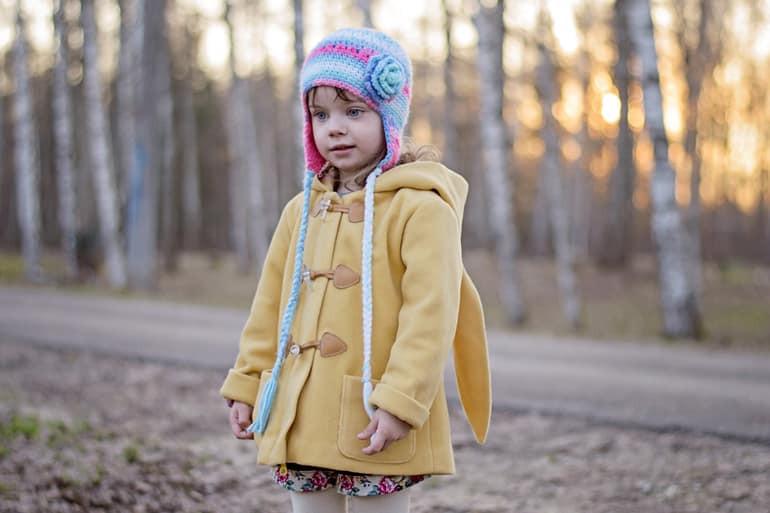 أغطية الرأس للبنات في الشتاء 2