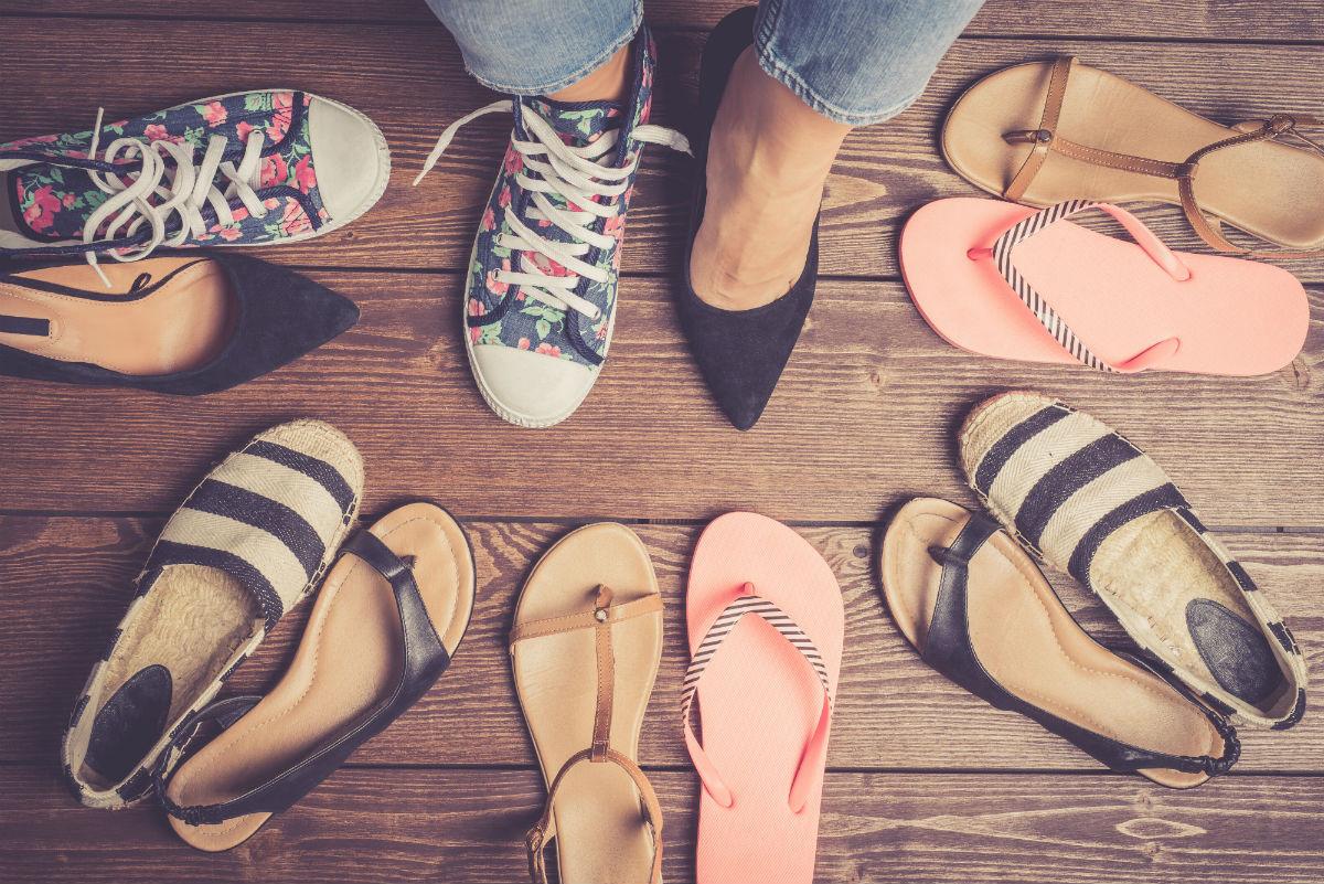كيفية العناية بالقدم- اختيار الحذاء المريح