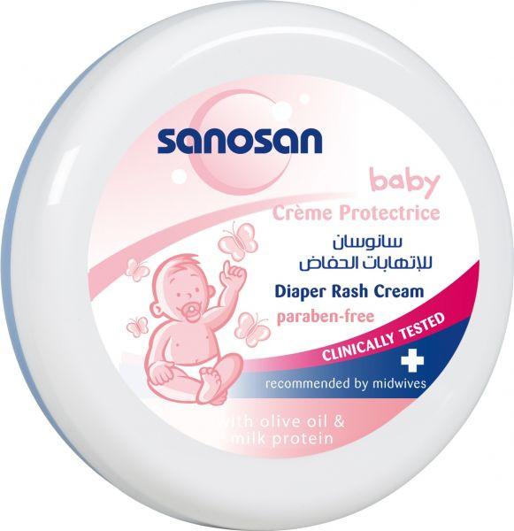 أفضل كريمات لعلاج التهابات منطقة الحفاض - كريم علاج التهاب الحفاض من سانوسان (Sanosan):