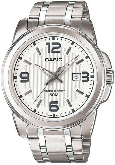 ساعة يد رجالي من كاسيو ، انالوج بعقارب ، ستانلس ستيل ، فضي ، MTP-1314D-7AVDF