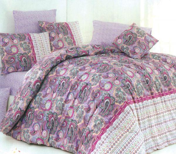 لحاف قطني لتدفئة السرير في الشتاء 2
