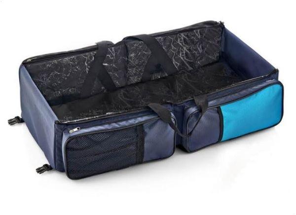 أفضل حقائب الأطفال الرضع - سرير وحقيبة للأطفال قابلة للطي 2 في 1 من بيبي جيم