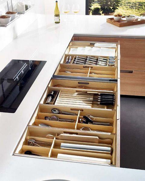 منتجاتلتنظيم المطبخ - مقسم الأدراج