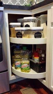 منتجاتلتنظيم المطبخ - سلال المطابخ الدوارة