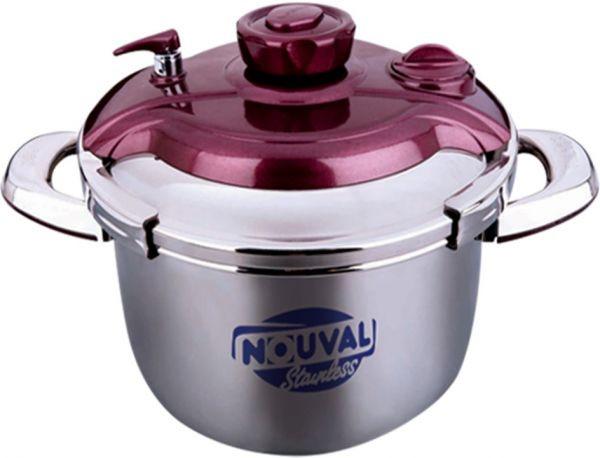 أفضل أنواع حلل الضغط - حلة طهي بالضغط برسو تاتش من نوفال