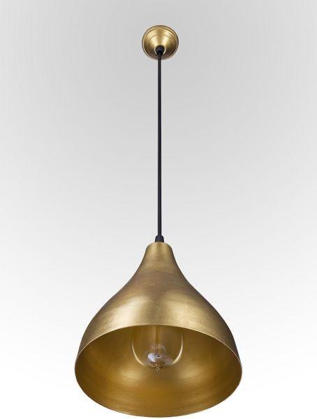 أشكال الإضاءة المنزلية - نجف نحاسي