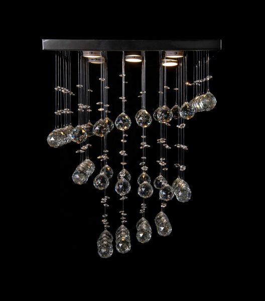 أشكال الإضاءة المنزلية - نجف شمعدان كريستال