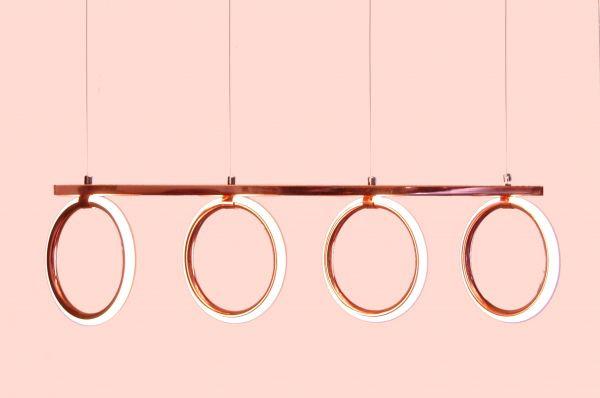 أشكال الإضاءة المنزلية - نجف شمعدان معدني