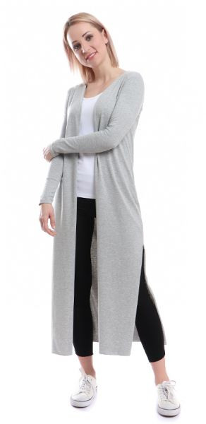 ملابس حوامل شتاء 2019 - كارديجان طويل