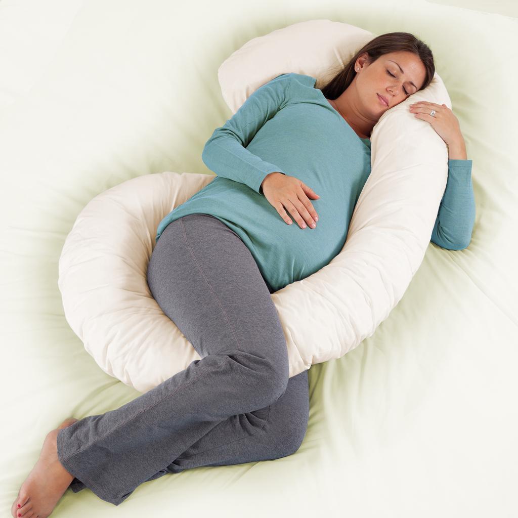 هدايا عيد الأم للحامل - وسادة الحمل