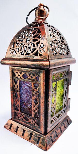 أشكال فوانيس رمضان 2019 - فانوس معدني