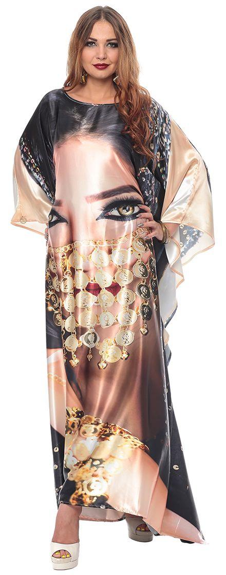 ملابس رمضانية - قفطان حرير