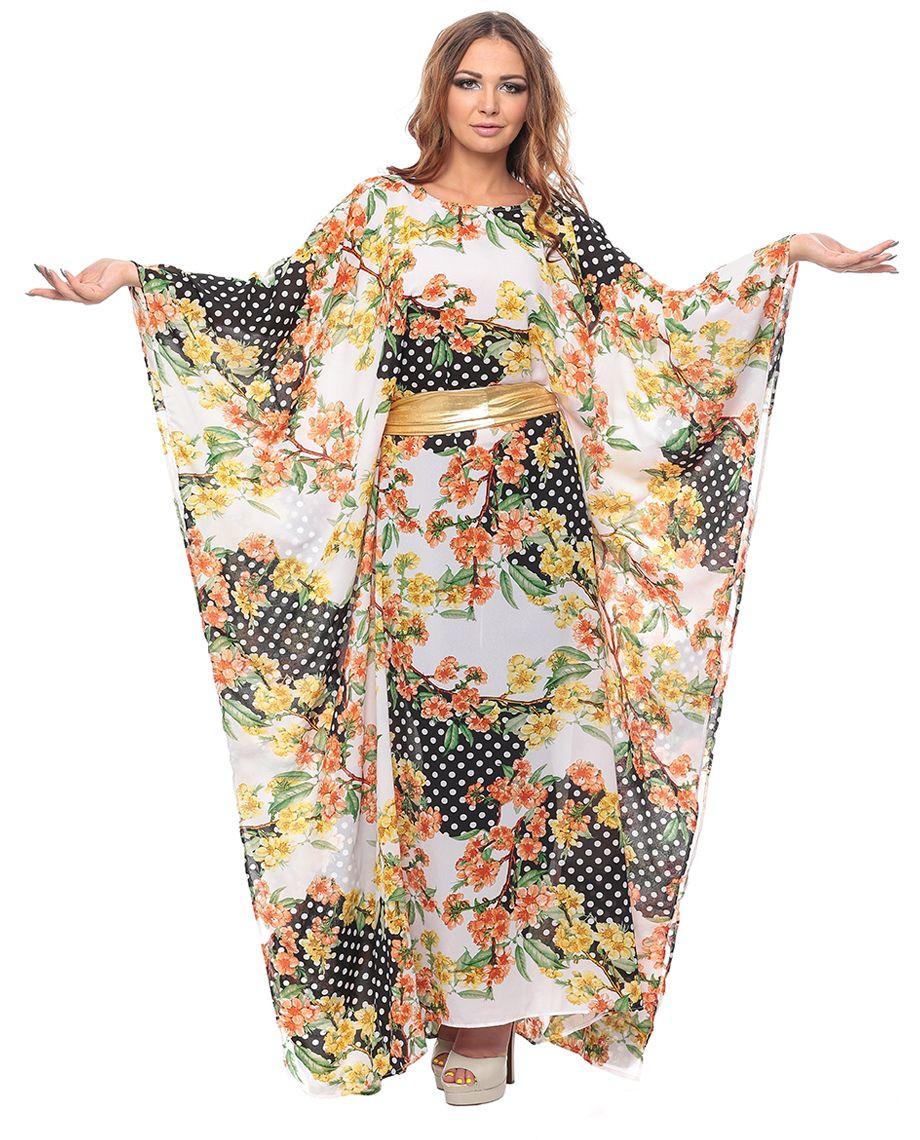 ملابس رمضانية - قفطان مشجر
