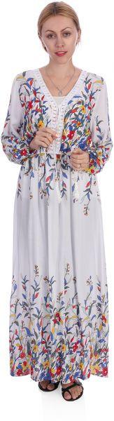 ملابس رمضانية - فستان مشجر