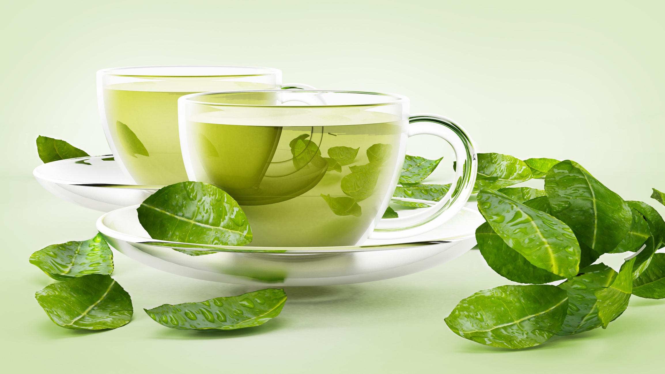 مشروبات لزيادة الحرق - الشاي الأخضر
