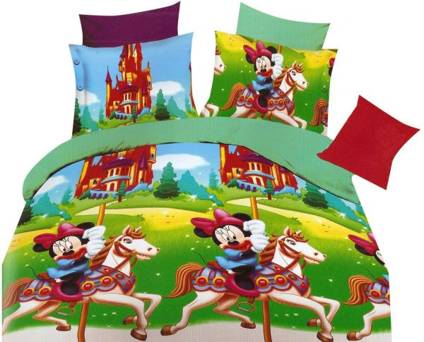 ملايات سرير أطفال - ملاية سرير أطفال على شكل ميكي موس