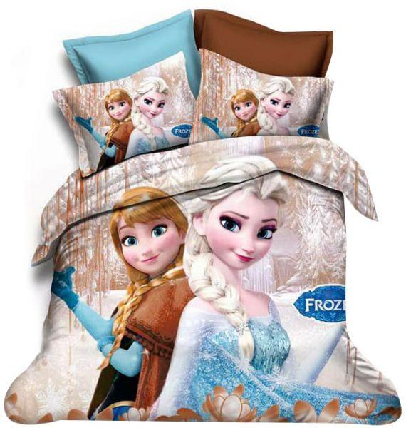 ملايات سرير أطفال - طقم ملايات سرير فروزن Frozen