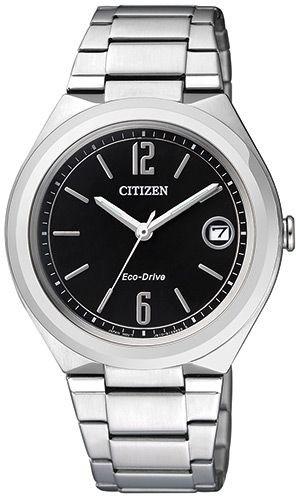 أفضل الساعات النسائية - ساعة سيتيزن فضية اللون FE6020-56E