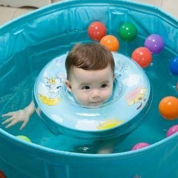 عوامات سباحة الأطفال - عوامة رقبة للرضع والأطفال