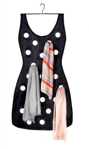 منتجات تنظيم الطرح - منظم طرح على شكل فستان