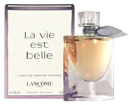 أفضل العطور النسائية - عطر لإفي بيل من لانكوم la vie est belle