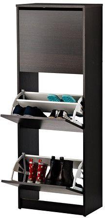جزامات الأحذية - خزانة أحذية ذات 3 حجيرات