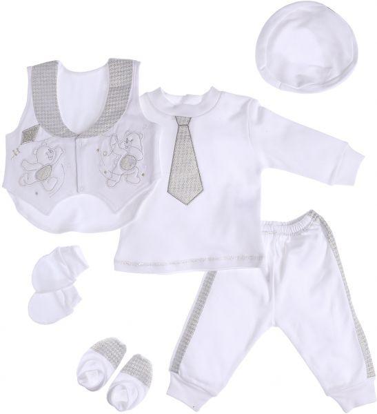 حقيبة الولادة - ملابس قطنية للمولود