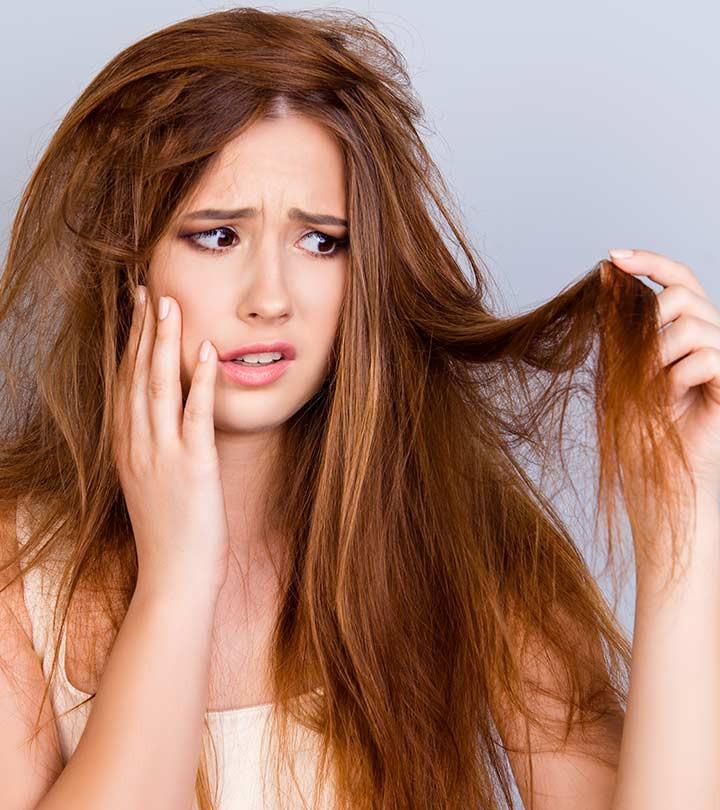 أنواع الشعر - الشعر الجاف