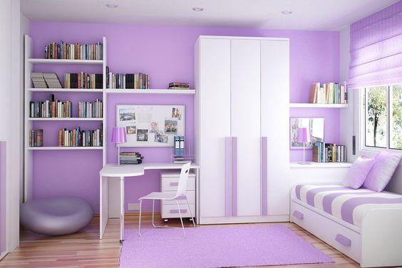 ديكور منزل بنفسجي - ديكور غرفة أطفال بنفسجي
