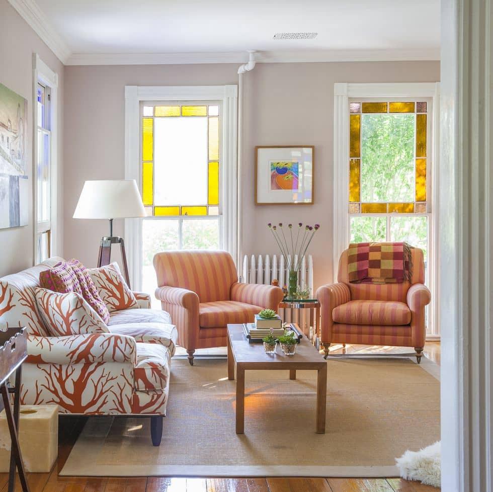 تنسيق ألوان ديكور المنزل - دراسة مساحة المنزل جيدًا